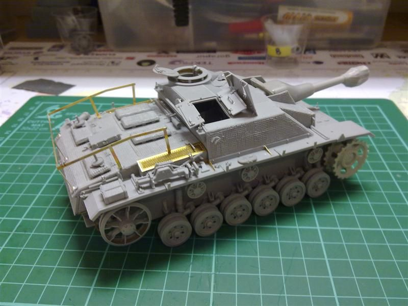 Andrew C's Build #2 - DML/CH 6454 StuH 42 w/Zim - Alkett March 1944 Production 26276