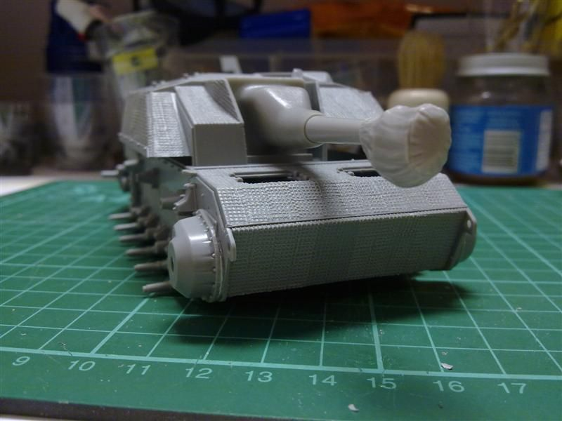 Andrew C's Build #2 - DML/CH 6454 StuH 42 w/Zim - Alkett March 1944 Production 291120126214