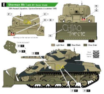 Sherman Mk I w/Dozer 28th Assault Squadron, 4th NZ Armoured Brigade ShermanMkIwithDozer_zpsbecc4b84