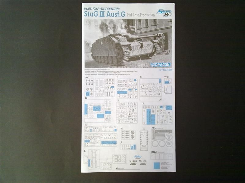 Andrew C's Build #3 StuG III Ausf G Miag March-May 1944 Production 26294