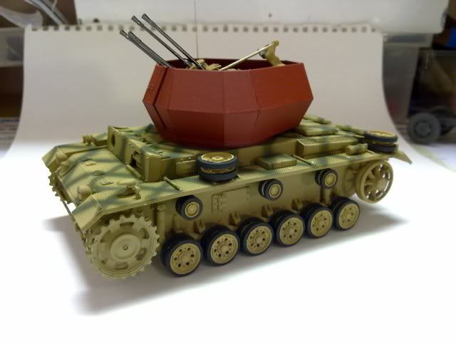 Latest paper Flakpanzer III from Cyber Hobby 310320111240