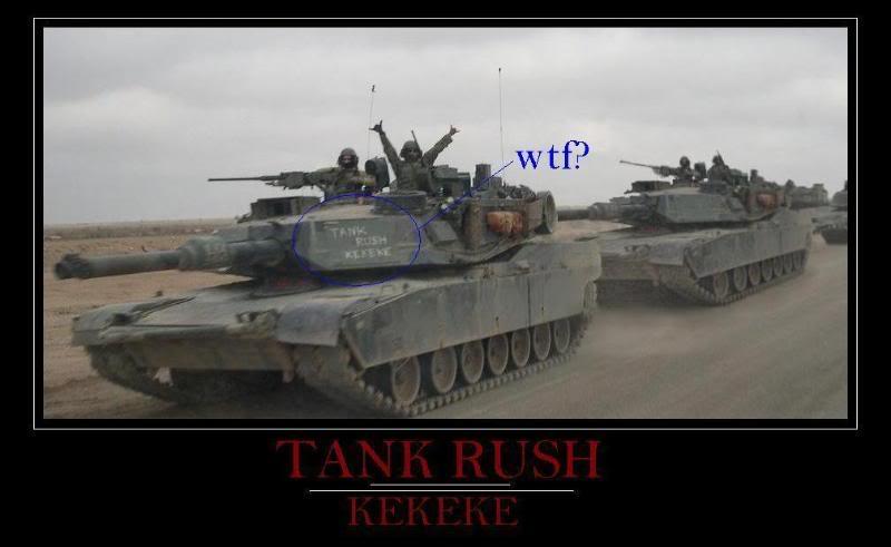 Funny Pics Thread etc... Tankrush