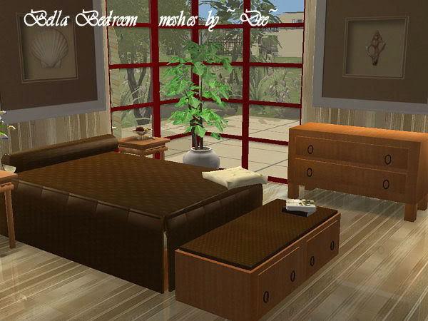 Предметы для Спальни BellaBedroom2-261007