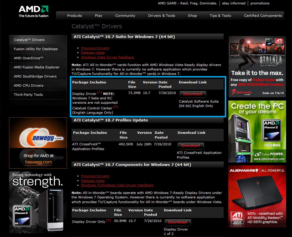 Improving FPS (with an ATI GPU/Gfx Card) 4