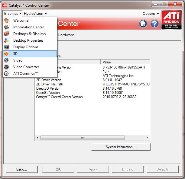 Improving FPS (with an ATI GPU/Gfx Card) 6