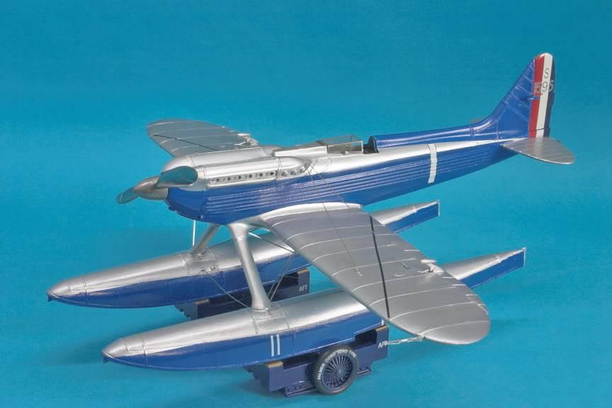 S-6B winner schnieder trophy 1/32nd scale S-6B-on-trolley