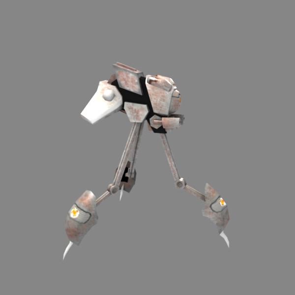 Zailo Tripod battle droid MDTR2