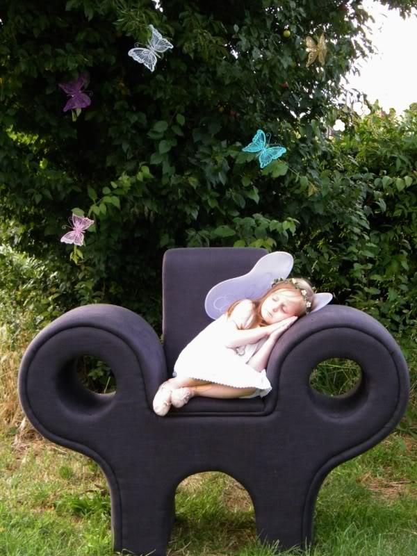 Unusual armchair Fairy