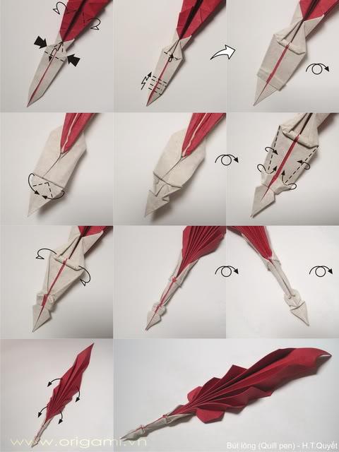 [P-Diag] Bút lông ngỗng / Quill pen - H.T.Quyết  P-diagQuillpen2_resize