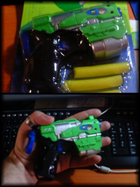 Temática: Mini Rayguns BEN10