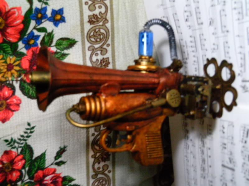 La Pistola de Ondas Hertzianas Amplificadas de Antena Espiral Dipolar Gama Rosetti PTDC0122