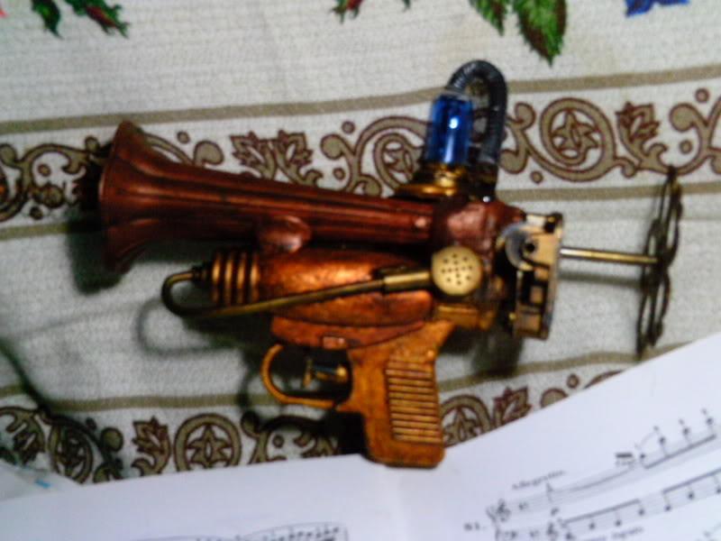 La Pistola de Ondas Hertzianas Amplificadas de Antena Espiral Dipolar Gama Rosetti PTDC0123