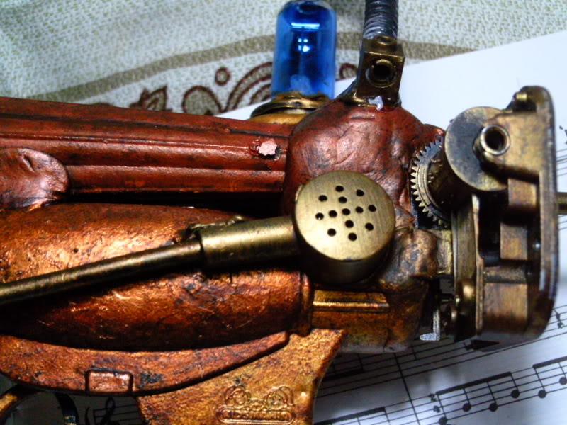 La Pistola de Ondas Hertzianas Amplificadas de Antena Espiral Dipolar Gama Rosetti PTDC0126
