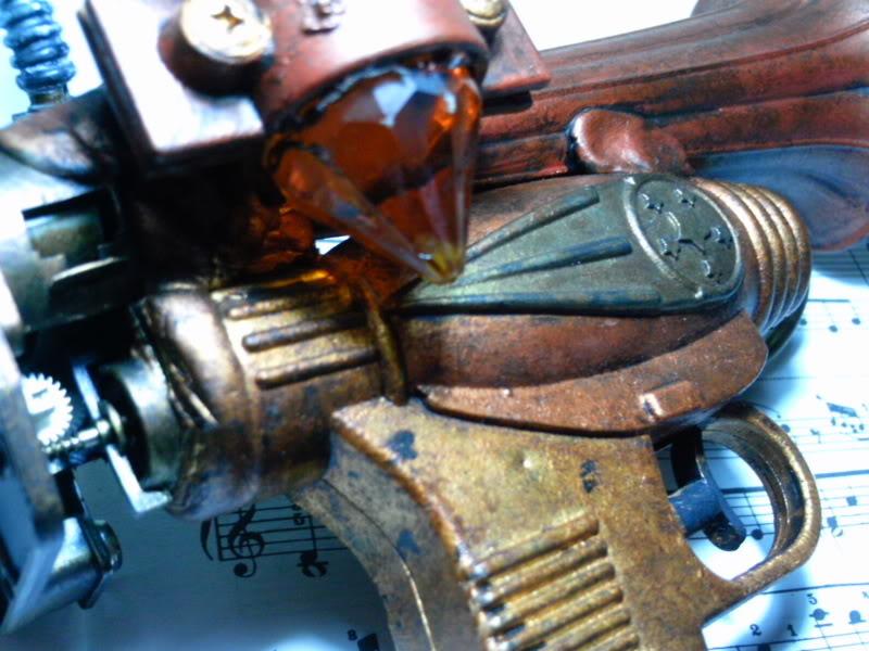 La Pistola de Ondas Hertzianas Amplificadas de Antena Espiral Dipolar Gama Rosetti PTDC0129