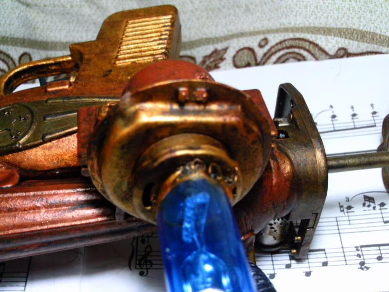 La Pistola de Ondas Hertzianas Amplificadas de Antena Espiral Dipolar Gama Rosetti PTDC0130