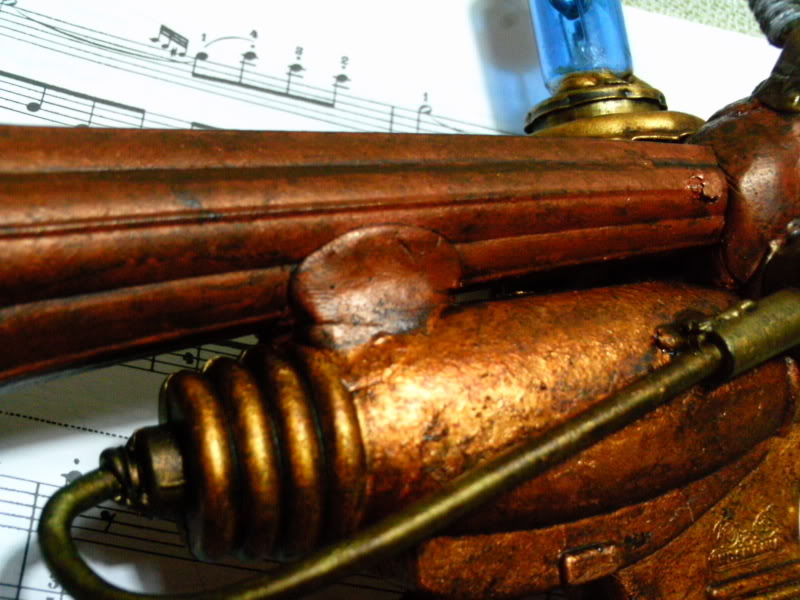 La Pistola de Ondas Hertzianas Amplificadas de Antena Espiral Dipolar Gama Rosetti PTDC0134