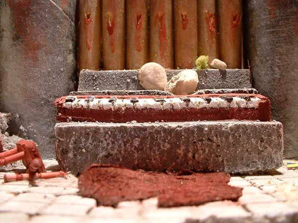 Templo Ruinoso (Maqueta) Piano-cerca