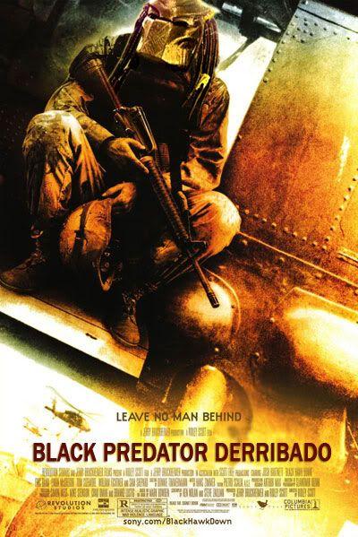 Alien vs Predator a lo steampunk Black-predator-derribado