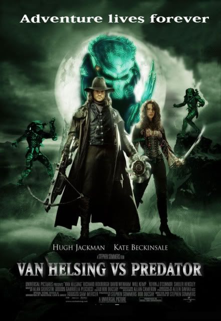 Alien vs Predator a lo steampunk Vanhelsinvspredator