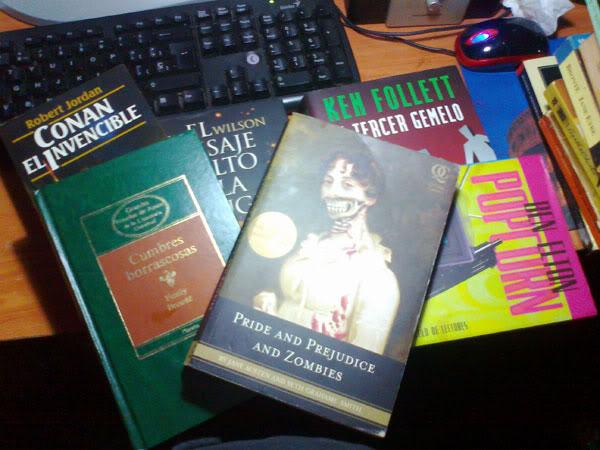 De bibliotecas y libros que reflejan nuestros gustos Pandpandzombies