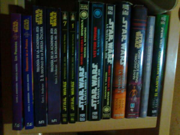 De bibliotecas y libros que reflejan nuestros gustos Star-wars