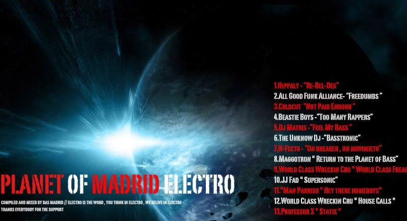 Planet of Madrid Electro Portada