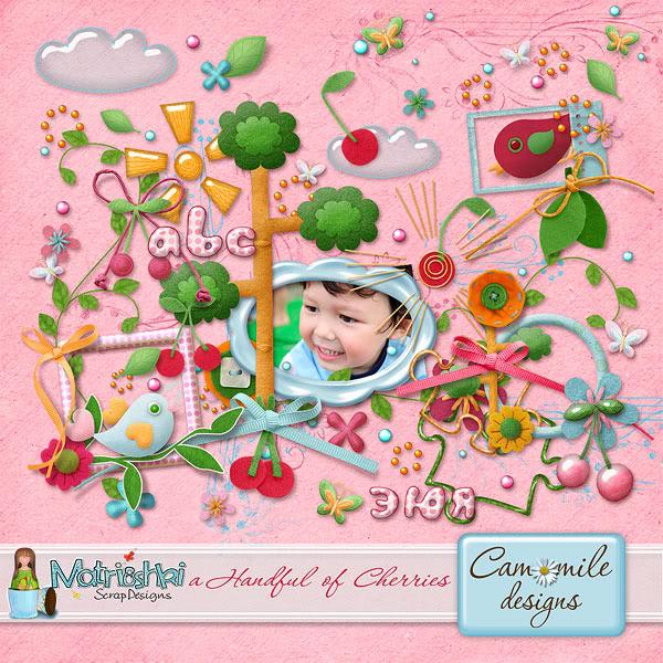 Camomile Designs at the Digi dares! (25% off) CD_aHandfulOfCherries_Kit_preview