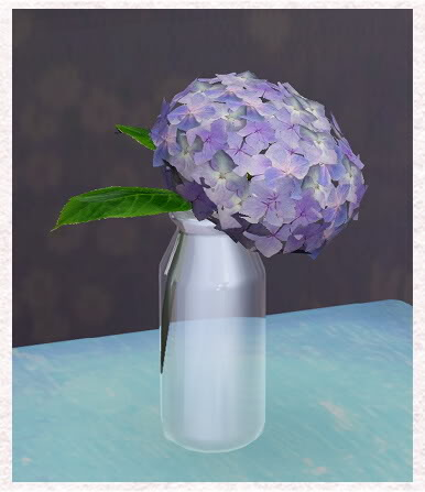 Bird-shaped diffuser and candle Sims 3 Pocci_hydrangea_gift