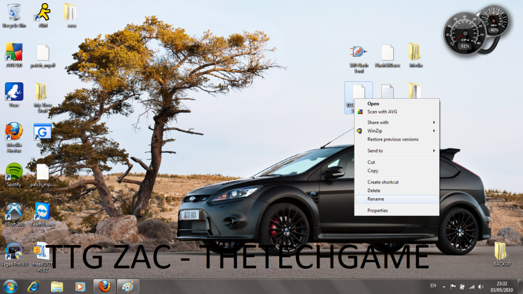 How To Install Freeboot-----With Images, TTG Zac! 1