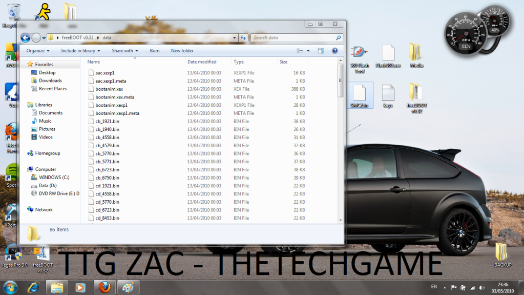 How To Install Freeboot-----With Images, TTG Zac! 10