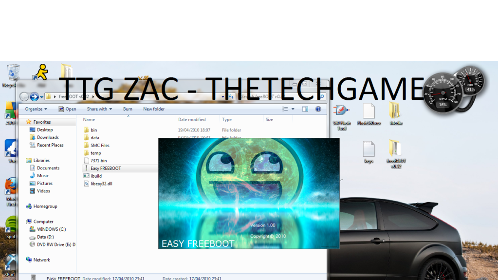 How To Install Freeboot-----With Images, TTG Zac! 13