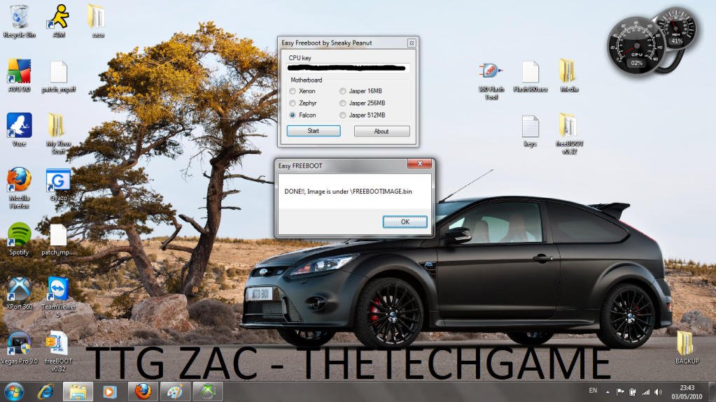How To Install Freeboot-----With Images, TTG Zac! 16