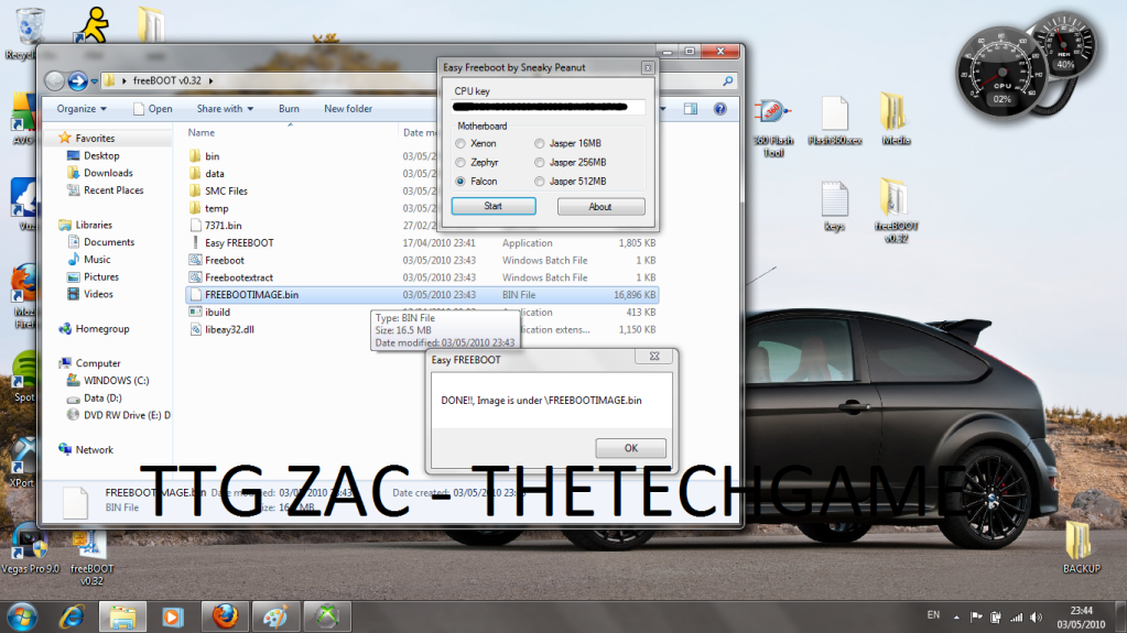 How To Install Freeboot-----With Images, TTG Zac! 17