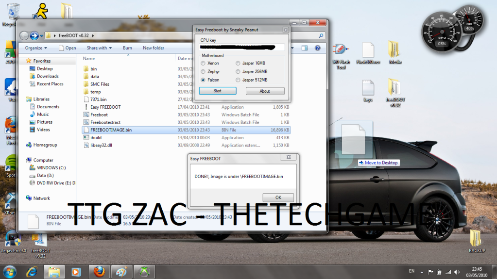 How To Install Freeboot-----With Images, TTG Zac! 18