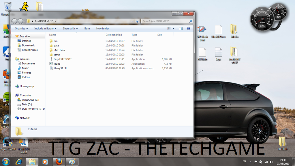 How To Install Freeboot-----With Images, TTG Zac! 3