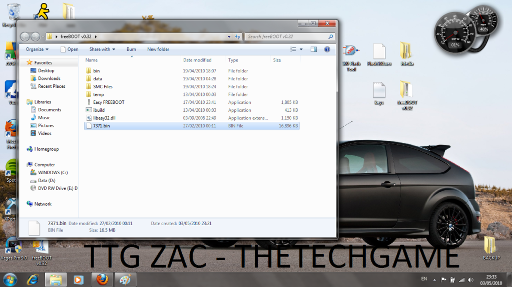 How To Install Freeboot-----With Images, TTG Zac! 4