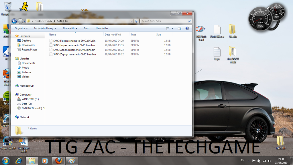 How To Install Freeboot-----With Images, TTG Zac! 5