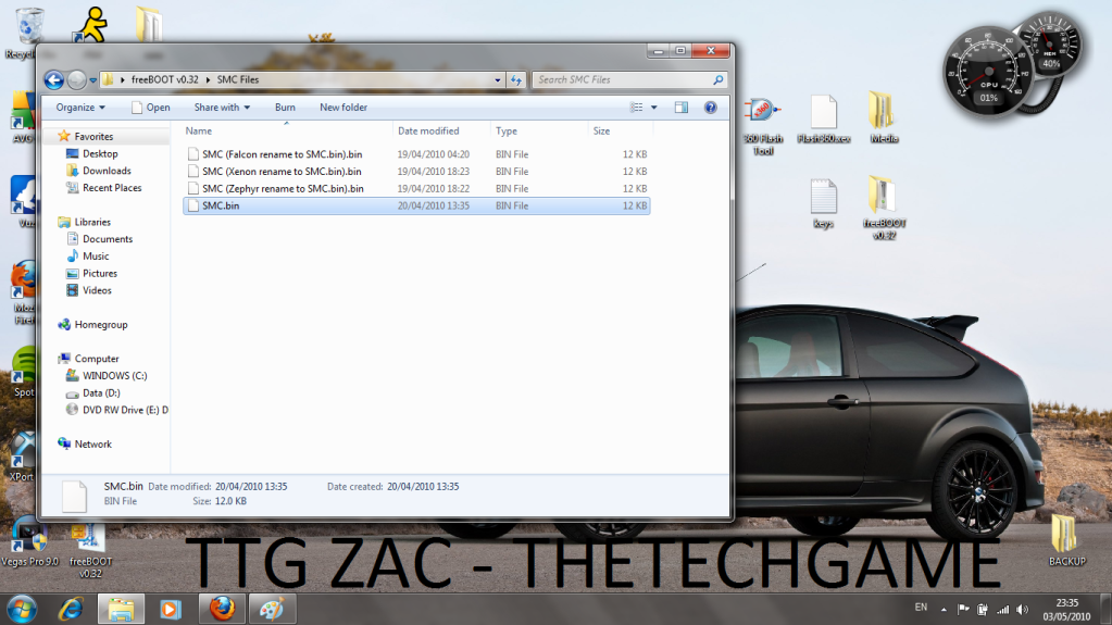 How To Install Freeboot-----With Images, TTG Zac! 7