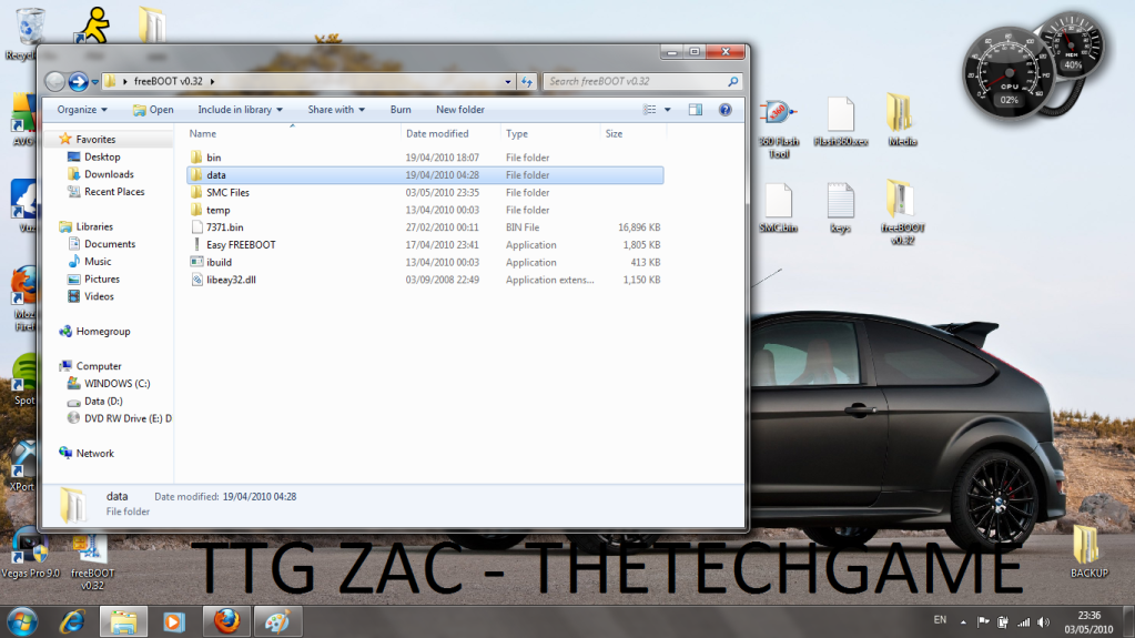 How To Install Freeboot-----With Images, TTG Zac! 9
