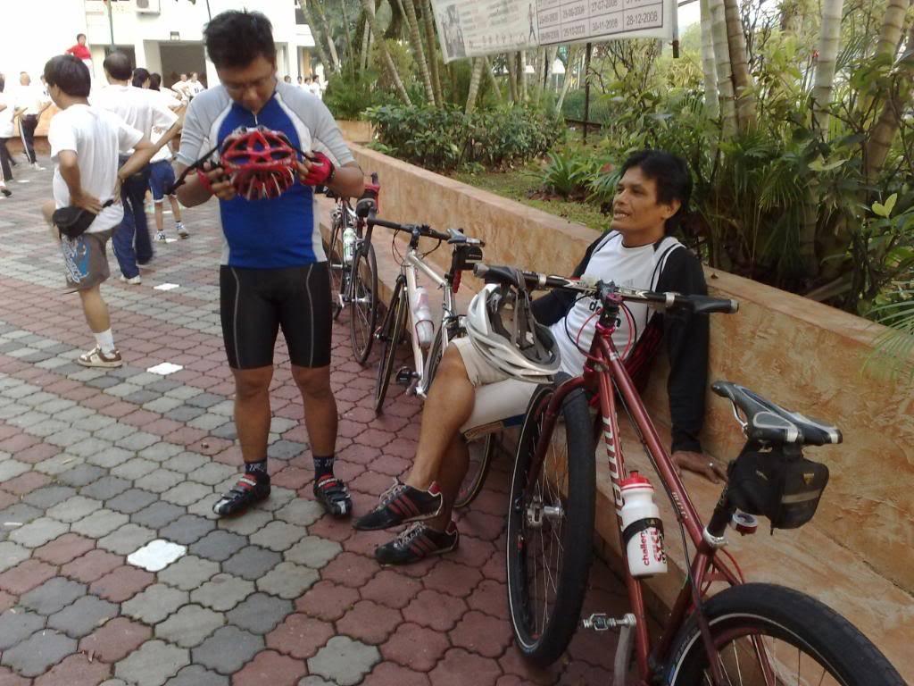 Regular Sunday Morning Road Ride 14/06/2009 14062009239