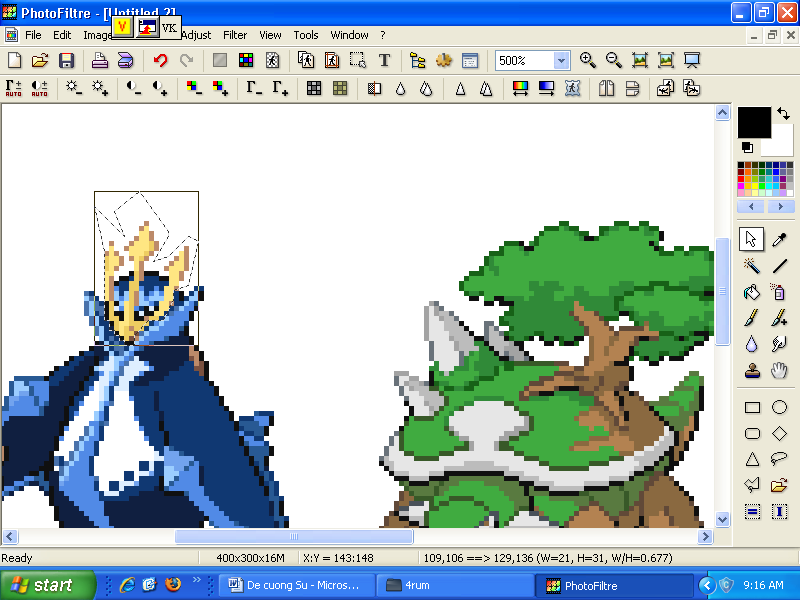 Cách fusion sprite pokemon ( bằng photofiltre và tương tự cho photofiltre studio ) Hd6