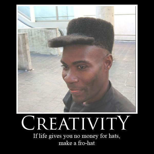 Thread full of funnies. Creativity