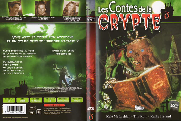 Goseb® et les dvd de Séries Crypte_dvd03