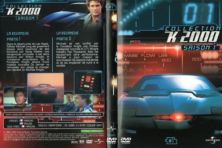 Goseb® et les dvd de Séries K2000_dvd01