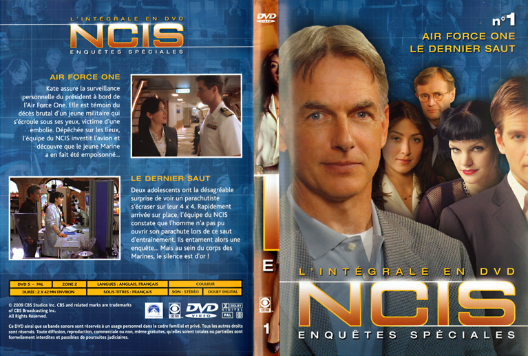 Goseb® et les dvd de Séries Ncis_dvd01