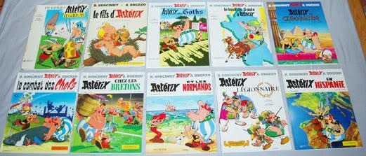Collection Astérix le gaulois P4071456