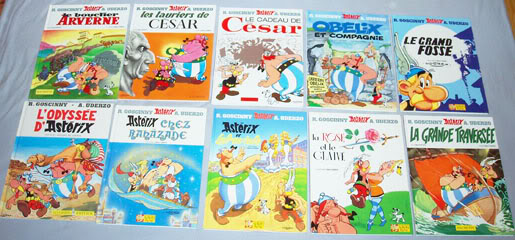 Collection Astérix le gaulois P4071457