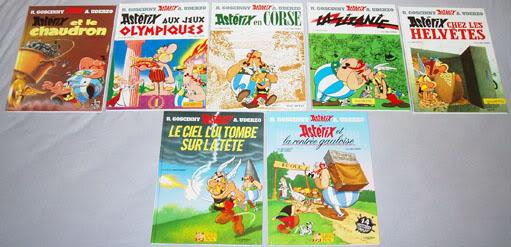 Collection Astérix le gaulois P4071458