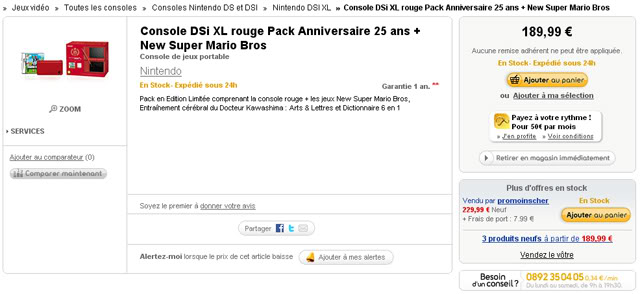 Nintendo DS, 3DS 640px_prix_fnac_dsi_limited