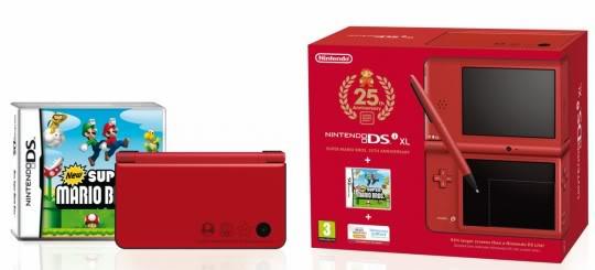 Nintendo DS, 3DS Dsi_xl_red_jeu